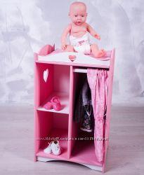 Шкафчик для кукольной одежды.