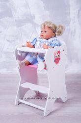 Кукольный стульчик для кормления Бэби Борн