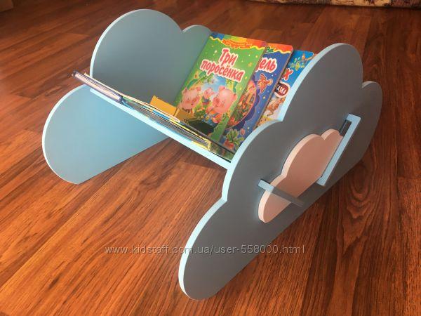 Книжный стеллаж. Декор детской