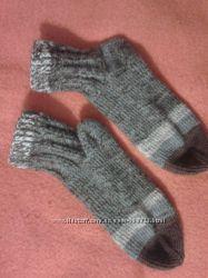 Носки вязані