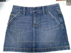 НЕДОРОГО Юбка джинс Gap размер 0 американский