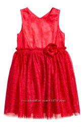 Праздничное платье H&M, р. 134см