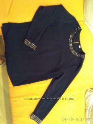 Блуза темно синего цвета S. OLIVER