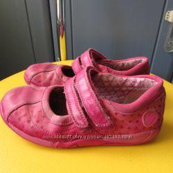 Clarks туфли девочке р. 29 11G стелька 18. 5