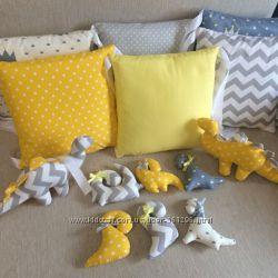 Подушка бортик защита в детскую кровать