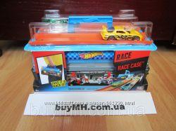 Кейс Гонки Хот Вилс с 2 машинками Hot Wheels Race Case Track CFC81