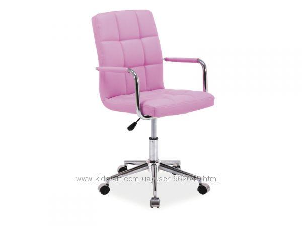 Крісло компютерне Signal Q-022 рожевий/фіолетовий