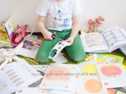 Много материалов для занятий с ребенком. Сканы книг, кумонов, школы годовас