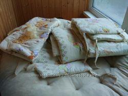 Детский постельный комплект Asik 7 элементов