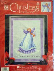 Набор для вышивания Christmas Traditions 1973 Winter Angel
