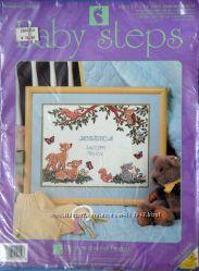 Метрика для вышивания Baby Step 9202