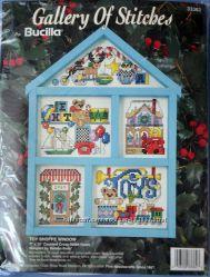 Набор для вышивания Bucilla 33382 Toy Shoppe Window