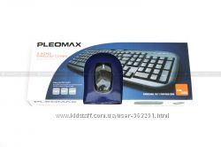 Комплект мышь и клавитура Pleomax Wireless Combo Samsung