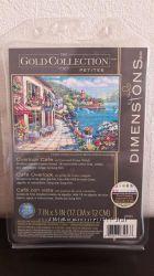 Набор для вышивания крестом Dimensions 65093 Overlook Cafe