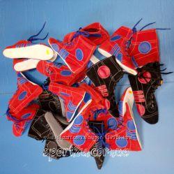 Кожаные самбетки черные и красные р. 39-46