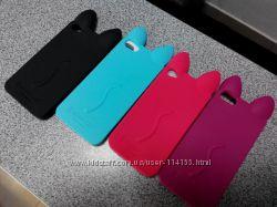 Силиконовый мультяшный чехол на Samsung Iphone