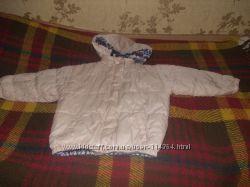 Двухсторонняя куртка для девочки