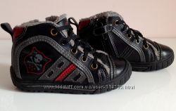 Кожанные ботинки 24 размер