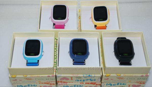Детские умные часы Q90  Q100 и настройки