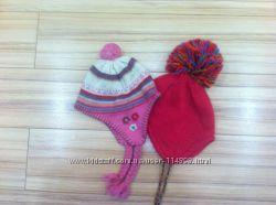 Шапки H&M и Monsoon на флисовой подкладке для девочки 3-6 лет