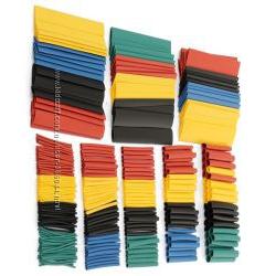 Термоусадочные трубки - набор разного цвета 328 шт.
