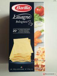Листы для лазаньи BARILLA , ITALIAMO Lasagne 500g Италия