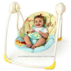 Кресло - качалка Bright Starts качели Солнечное сафари