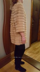 Легкая норковая шубка-курточка, отличное состояние