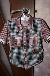Рубашка, 104-110р, хлопок, состояние новой