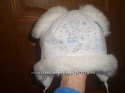 Зимняя шапочка на 2 года
