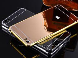Чехол бампер для Xiaomi Mi3 Mi4 Mi4i Mi4C Mi5 зеркальный