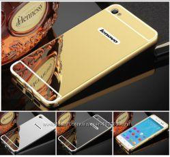 Чехол бампер для Lenovo P70 P70t S60 S60t S90 Sisley зеркальный