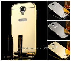 Чехол бампер для Samsung Galaxy S3 i9300 S4 i9500 зеркальный