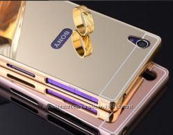 Чехол зеркальный для Sony Xperia M4 Aqua Xperia M5 E5633