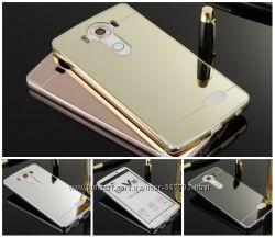 Чехол бампер для LG G3s  G3 Mini D724 зеркальный