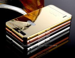 Чехол бампер для Huawei Honor 6 Honor 4C зеркальный