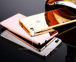 Чехол бампер для Huawei Ascend P6 Ascend P8 зеркальный