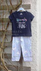 Пижама для девочки 92, 110 см Primark