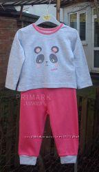 Sale. Трикотажная пижама для девочки 86 см Primark