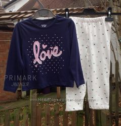 Sale. Пижама для девочки 92 см  Primark