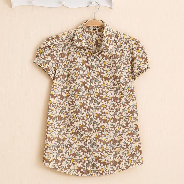 Женская летняя рубашка, размер L