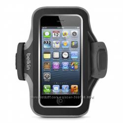 Чехол на руку iPhone 5 Belkin, спортивные чехлы для телефонов до 4. 3 дюйма