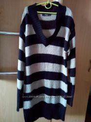 Светер Colin&acutes, удленненный свитер, теплый