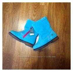 Замшевые ботиночки NEXT, 24-25 размер, стелька 15, 5 см, английский р-р 7.