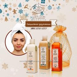 основной уход за волосами бренд White mandarin Украина, новогодний набор