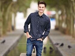 Модная Стильная рубашка LIVERGI Германия XL
