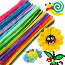 Плюшевые палочки для детского творчества