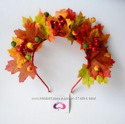Обручи, веночки, аксессуары для Осеннего бала