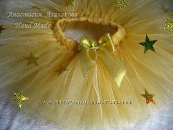 Костюм Звездочка серебристая, золотистая - бесплатная доставка