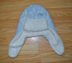Теплая шапка на меху